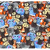 Mini Animal Erasers - Zoo Animal Erasers -144 Pack Of 1 Inch Assorted ,Zoo, Safari And Jungle Erasers - For Kids, Parties, Birthdays, Party Favors, Gifts, School, Education and Daycare By Kidsco
