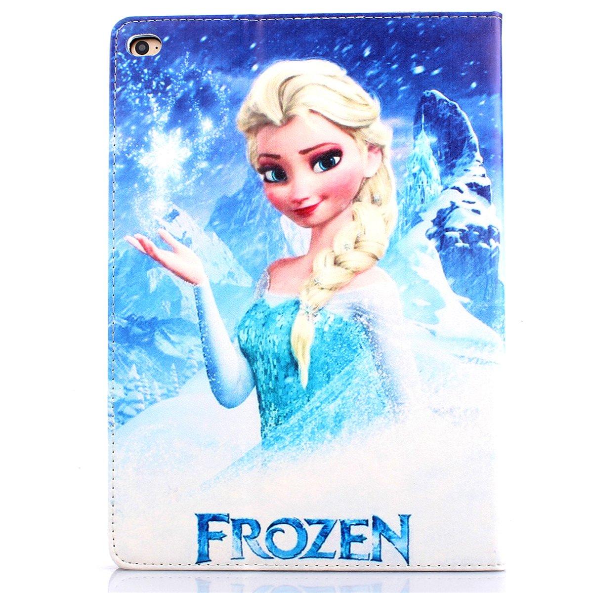 Amazon.com: iPad Air 2 Case, hm-ant Smart Anna & Elsa con ...