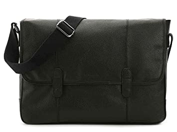 df648b070b Image Unavailable. Image not available for. Color: Cole Haan Pebble Leather  Wayland Messenger Bag, Black ...