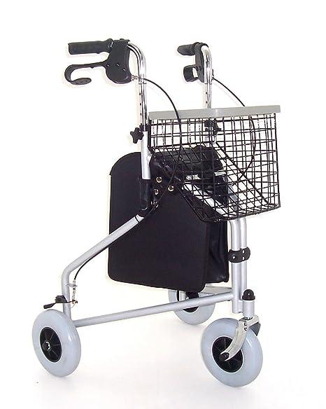 Z-Tec - Andador plegable con 3 ruedas: Amazon.es: Hogar