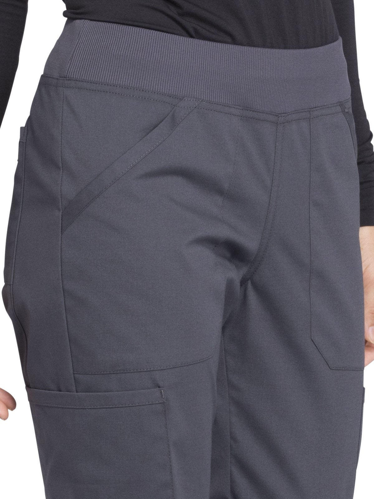 Cherokee Workwear Professionals WW170 Cargo Pant- Pewter- Medium Petite by Cherokee Workwear Professionals (Image #3)