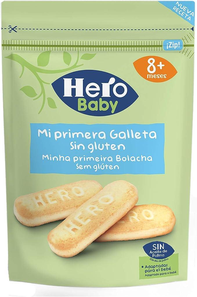 Hero Baby Galleta sin Gluten para Bebés, 180g