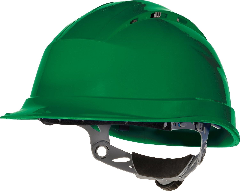Venitex Quartz IV Ventilated Safety Hard Hat Helmet - Green