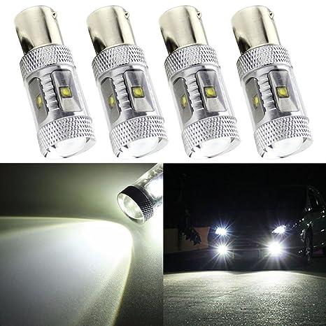 taben 7056 – 1156 BA15S 1141 P21 W blanco bombillas LED cree chisets 30 W de