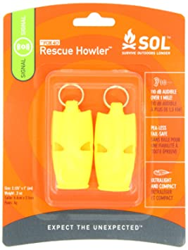 Adventure Medical Kits Essentials Rescure Howler Whistle 2