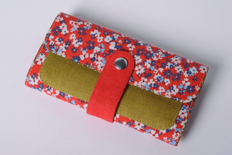 Motley lino y algodón Tejido de las mujeres bolso hecho a ...
