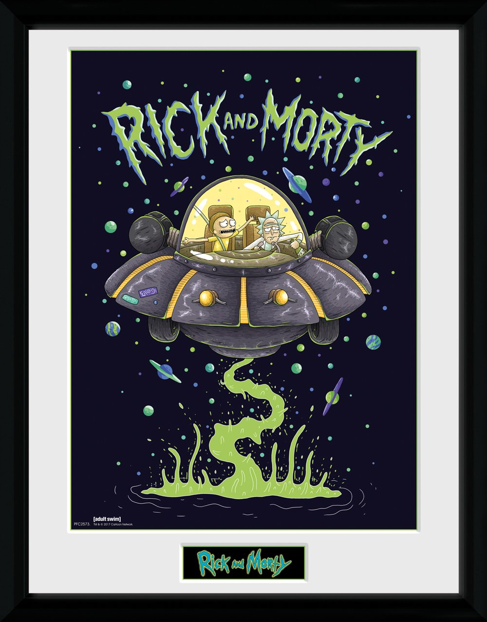 GB Eye Gerahmtes Poster Rick, Morty, Schiff, 30 x 40 cm ...