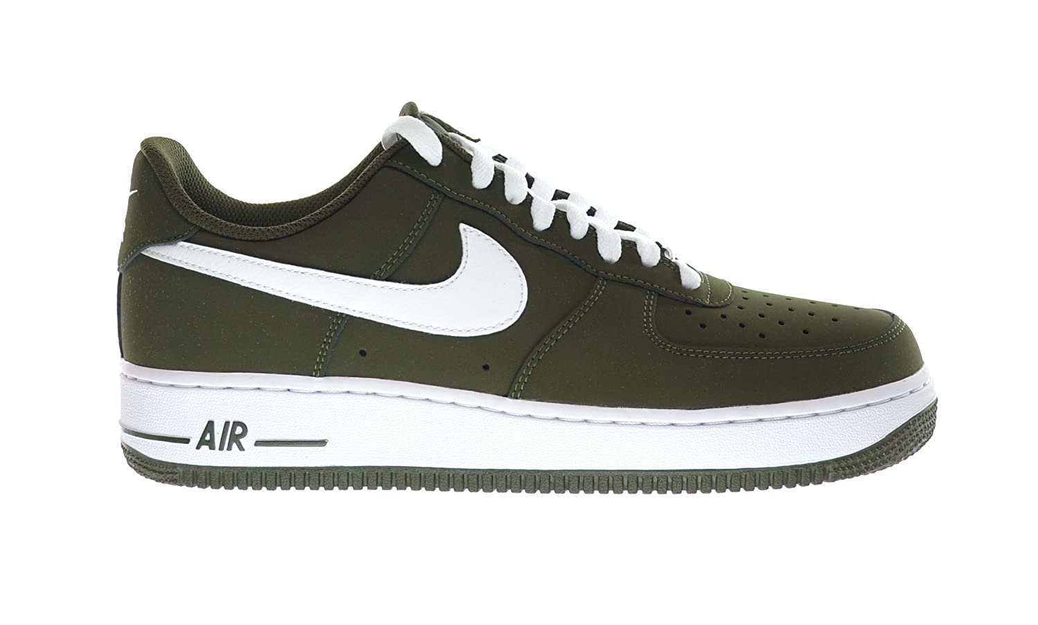on sale 36995 d0acb Amazon.com   NIKE Air Force 1 Men s Sneakers Dark Loden Green White  488298-311 (11.5 D(M) US)   Fashion Sneakers