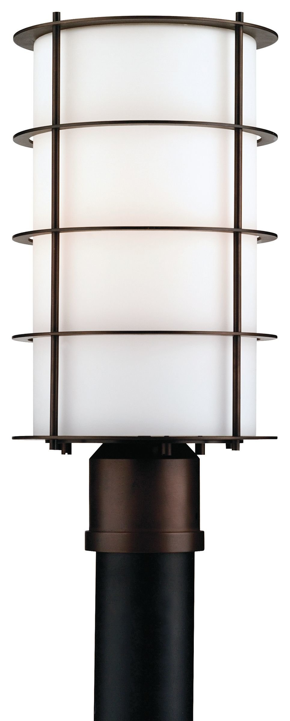 Philips Forecast F849468NV Hollywood Hills Outdoor Post Lantern, Deep Bronze