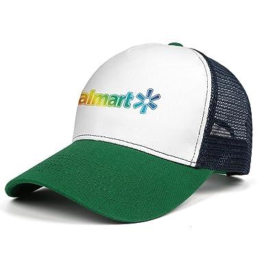 ZTUO Walmart-Gay-Pride-Rainbow-Logo- Gorra de béisbol de Malla ...