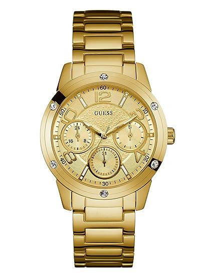 7e0e147b44e4 Guess - Reloj de Pulsera analógico para Mujer Cuarzo Acero Inoxidable  w0778l2  Amazon.es  Relojes