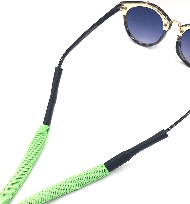 Black Blue Orange Yellow Adjustable Floating Foam Eyewear Retainer Holder Sports Sunglass Keepers Eyeglass Holder Safety Strap Rope Cord