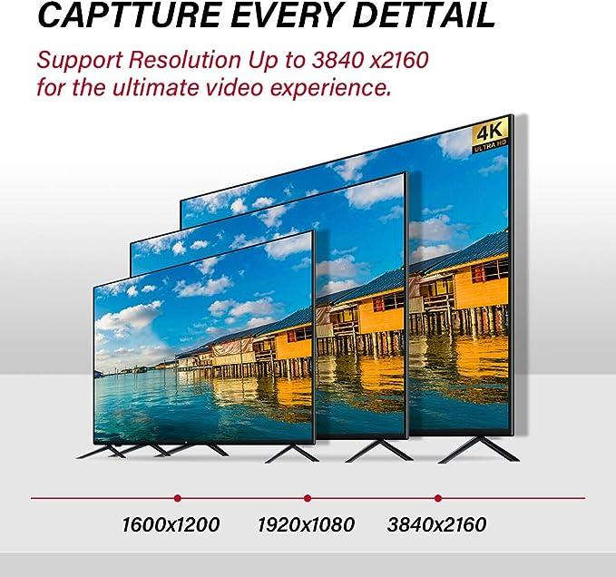 ATZEBE Cable HDMI Fibra Óptica: Amazon.es: Electrónica