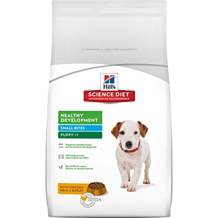 Amazon hills science diet puppy food healthy development hills science diet puppy food healthy development small bites with chicken meal barley dry forumfinder Gallery