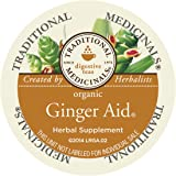 Traditional Medicinals Organic Ginger Aid Tea, Single Serve 0.70 Ounce