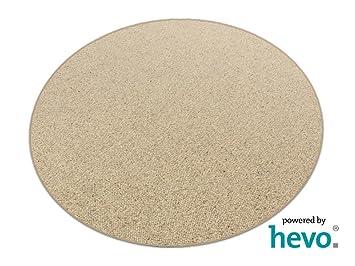 Teppich rund 200  Corfu HEVO ® Berber Kettel Teppich 200 cm Ø Rund Günstig: Amazon ...