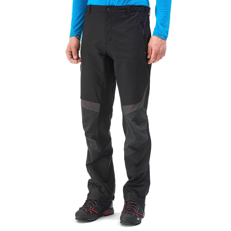 Millet Men S High Waist Trousers Mens High Tour Black Red Amazon
