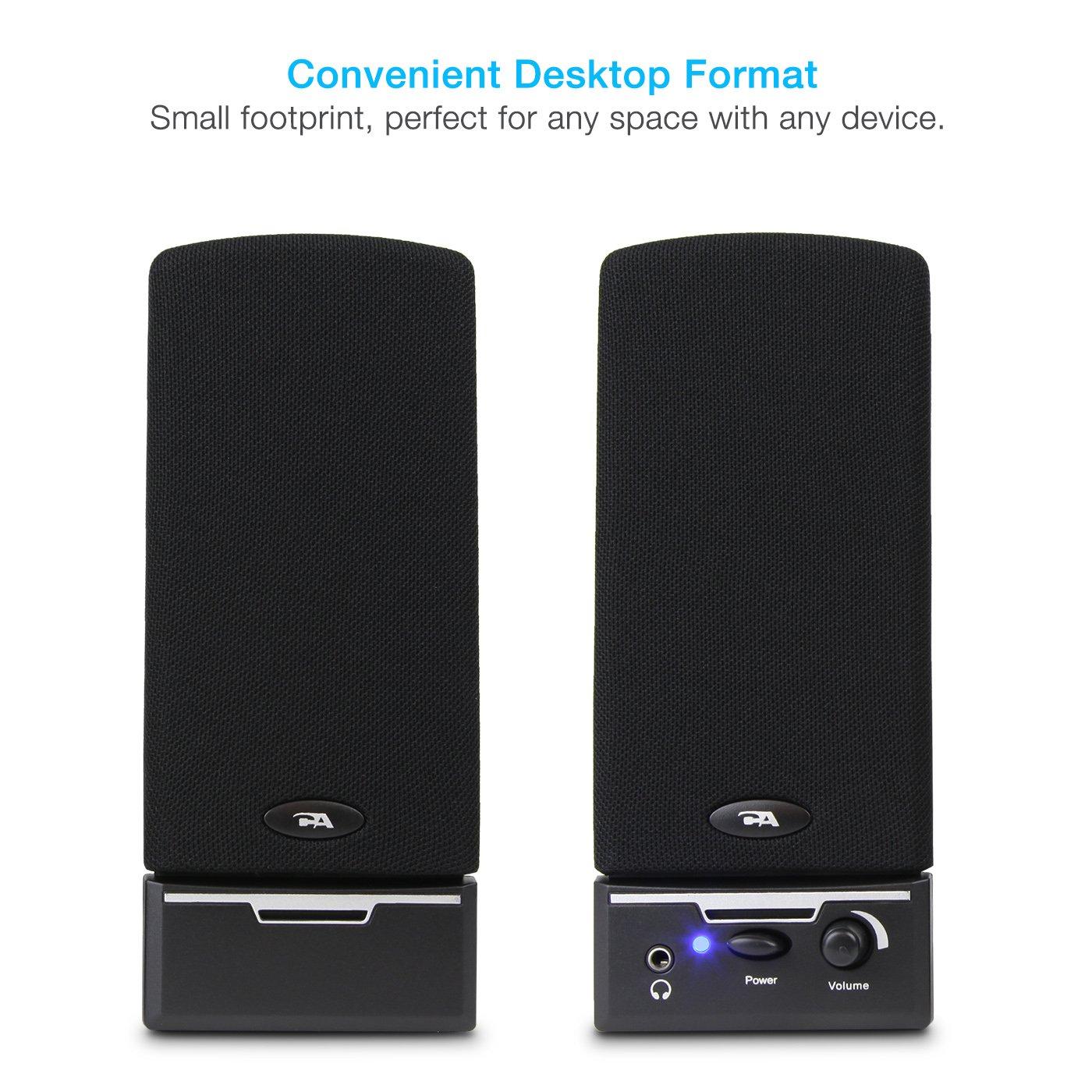Cyber Acoustics CA-2014 multimedia desktop computer speakers by Cyber Acoustics (Image #2)