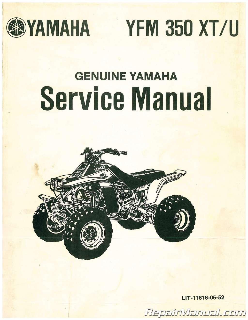 Ulit 11616 05 52 Used 1986 1987 Yamaha Yfm350x Warrior Atv Service Manual By Author Amazon Com Books