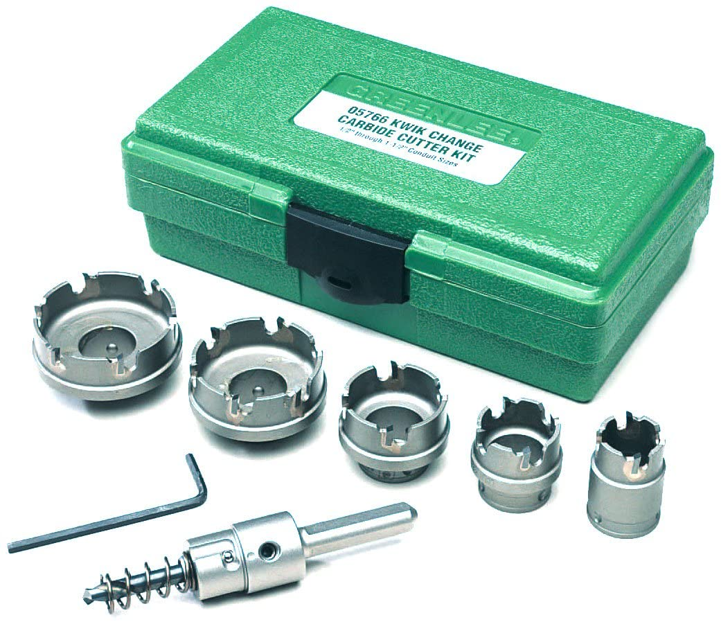 Greenlee Hole Saw Kit