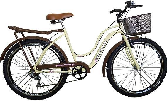 Bicicleta aro 26 galileus feminina modelo novo