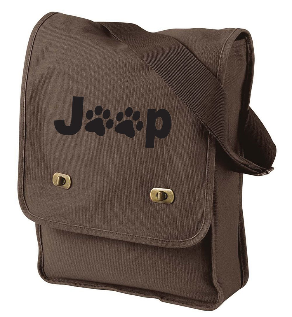 Jeep Paws Field Bag in 6 Colors (Java)