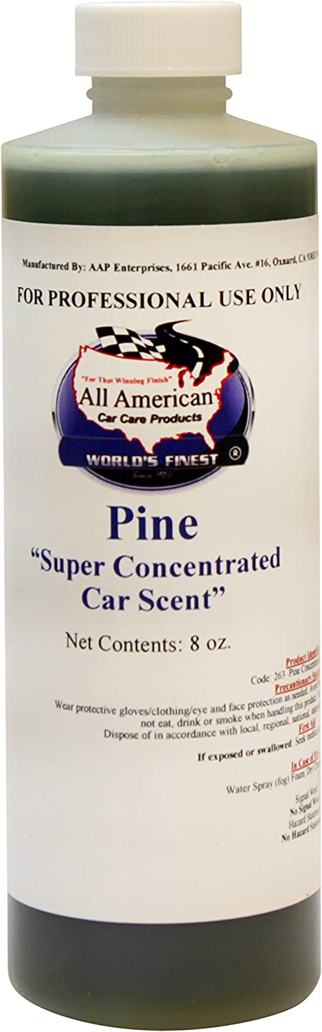 Super Concentrated Car Scent Air Freshener - Mix to Make 1 Gallon (Pine)