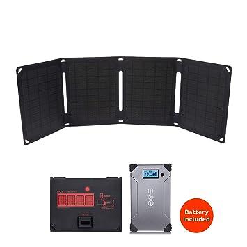 Kit cargador Solar 20 W: Amazon.es: Electrónica