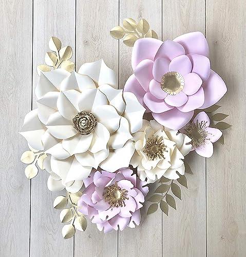 Flores Gigantes De Papel Para Decoración