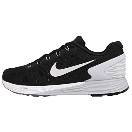 quality design 4a709 19e4d Amazon.com  NIKE Lunarglide 6 Womens Running Shoes 654434-001 Black Pure  Platinum-Cool Grey-White 8.5 M US  Sports   Outdoors