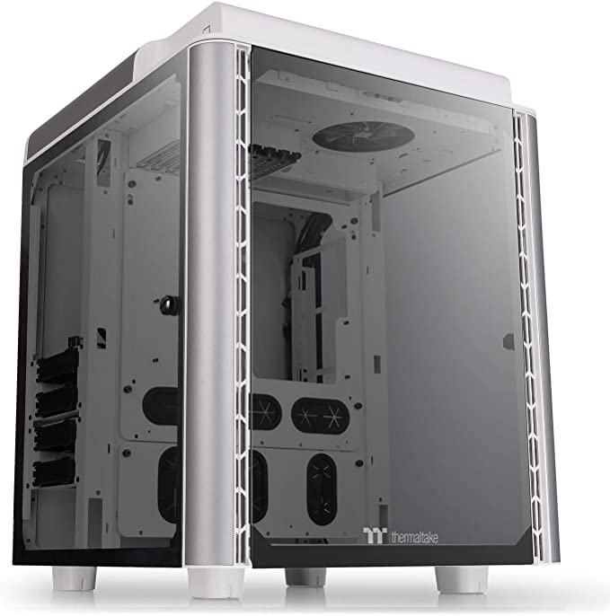 Thermaltake Level 20 Hat Snow Editiom E-ATX Full Tower PC Chassis Tempered Glass: Amazon.es: Informática