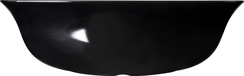 15.5 Quart Carlisle FoodService Products Pack of 4 White Carlisle 3336402 Flared Square Serving Bowl