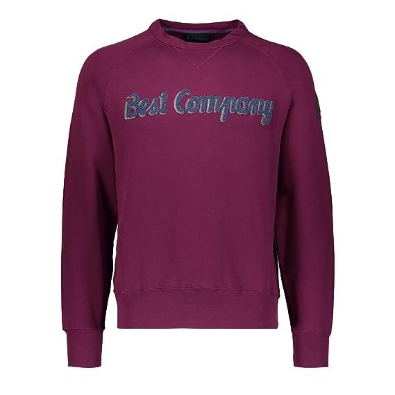 BEST COMPANY Rundhals-Sweatshirt  Amazon.co.uk  Clothing 85cb0df6684a