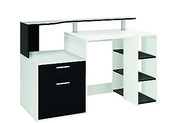 Brevidex table de bureau rectangulaire pieds fixes p xl