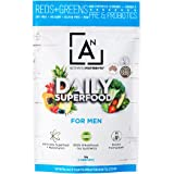 Activated Nutrients Natural Raw Vegetables Daily Superfood Powder (Men, 2 Ounce)