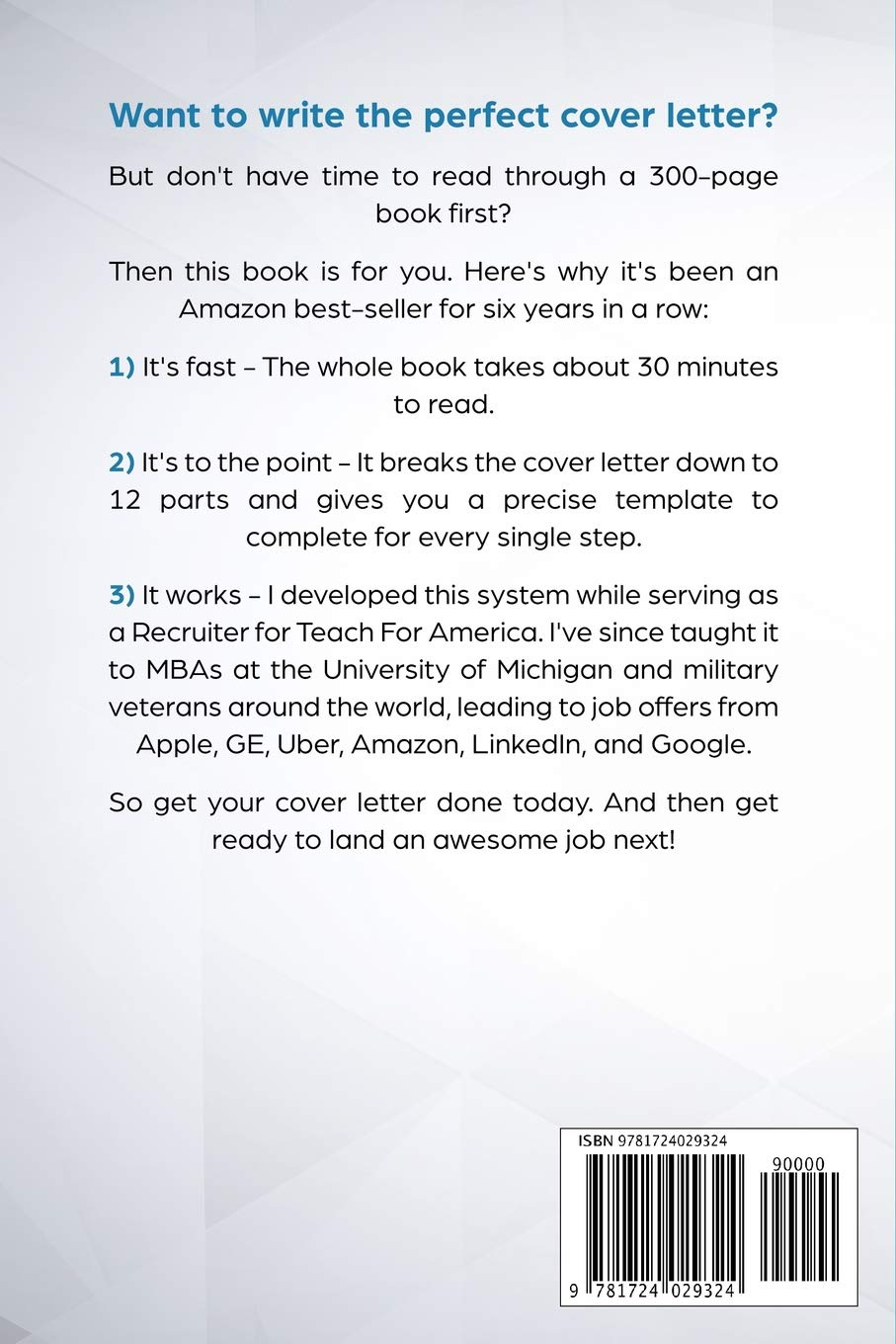 Get It Done: Write a Cover Letter: Amazon.de: Jeremy ...