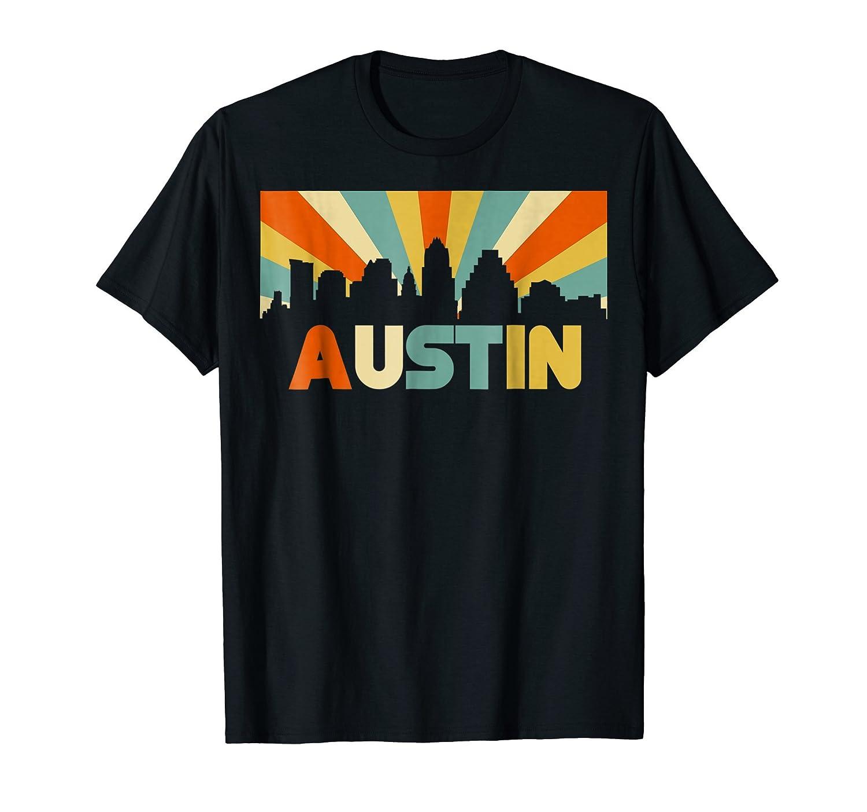 c2132937d2 ... 50% Cotton, 50% Polyester Imported Machine wash cold with like colors,  dry low heat. Austin city retro t-shirt, vintage silhouette Austin city TX  shirt ...