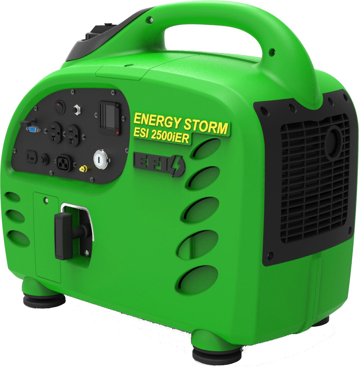 Electronic Fuel Injected 2500w Digital Inverter Generator by ESI