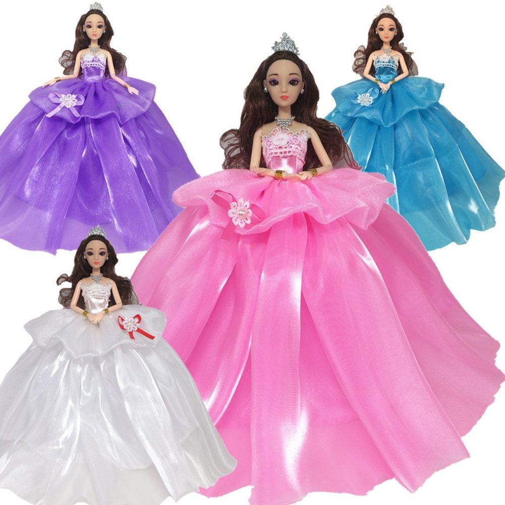 Vestido de boda de la muñeca de los 29cm con los hemlines grandes ...
