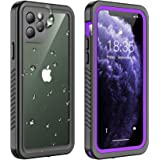 Temdan iPhone 11 Pro Max Waterproof Case, Built in Screen Protector Clear Sound Quality Full Sealed Cover Shockproof Dirtproo
