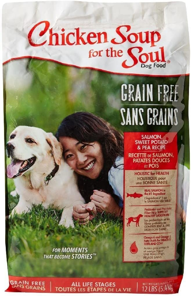 Chicken Soup For The Soul Grain Free – Salmon Sweet Potato – Dog 12Lb