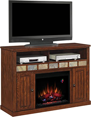 ClassicFlame 23MM0925-O125 23 Sedona TV Stand for TVs up to 57 , Caramel Electric Fireplace Insert sold separately