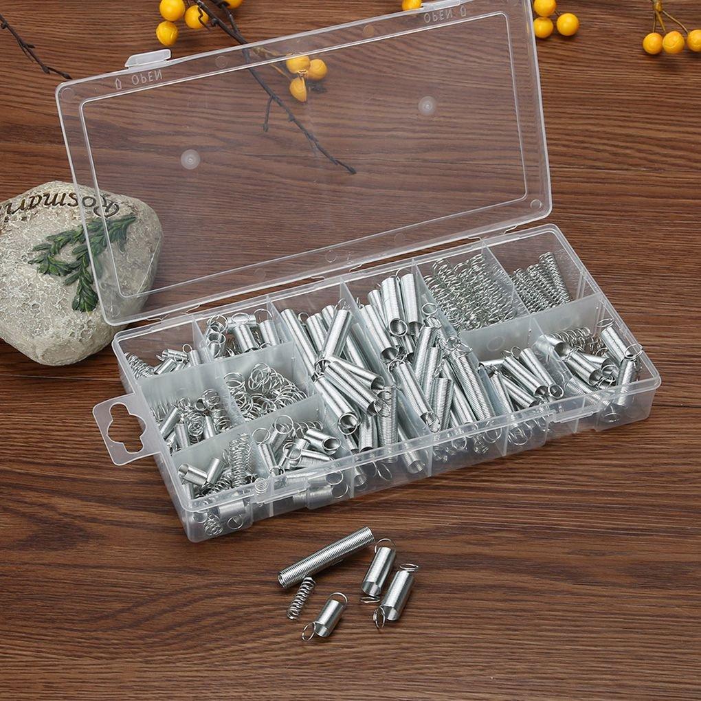 Ben-gi 200Pcs Stahlfeder Elektrische Hardware Drum Erweiterung Zugfedern PressureSuit Metall Sortiment Hardware Kit