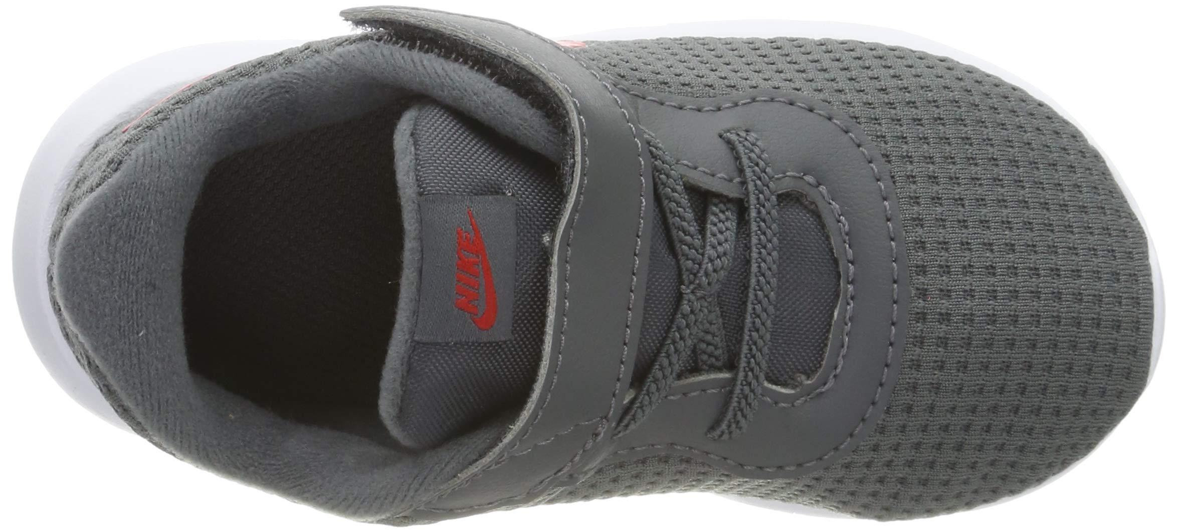 Nike Kid's Tanjun Running Shoe (7 M US Toddler, Dark Grey/University Red/White) by Nike (Image #7)