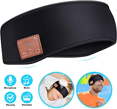 Amazon.com: Sleep Headphones - Diadema inalámbrica con ...