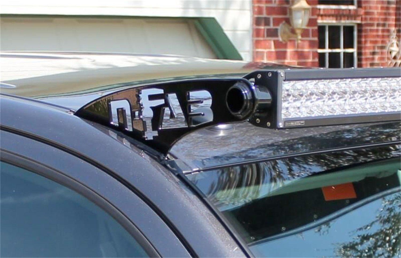 N-FAB T1049LR Gloss Black Roof Mounts; 49 Series Toyota 4 Runner  10-18