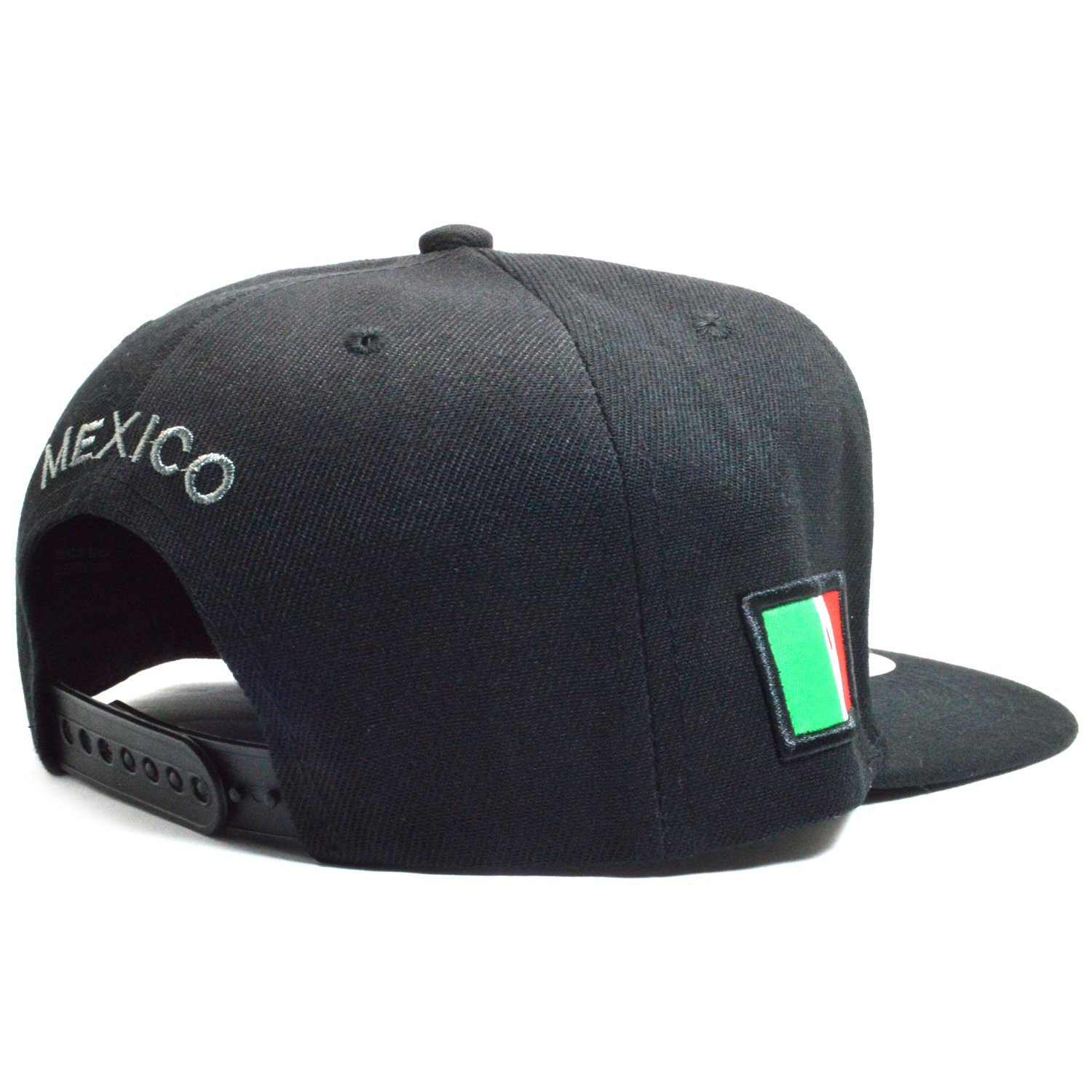 e502c10e67cea AblessYo Mexican Hat Mexico Federal Embroidered Snapback Baseball Cap Flat  Bill AYO6028 (Chihuahua) at Amazon Men s Clothing store