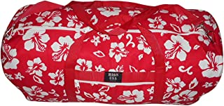product image for BAGS USA Extra Large Eagle Duffle Bag,tough 1000 Denier Cordura Made in U.s.a. (Hawaiian Red)