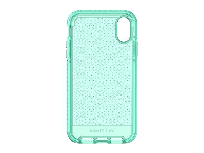 cheaper bd49b 40c29 tech21 - Evo Check Case - for Apple iPhone XR, Neon Aqua