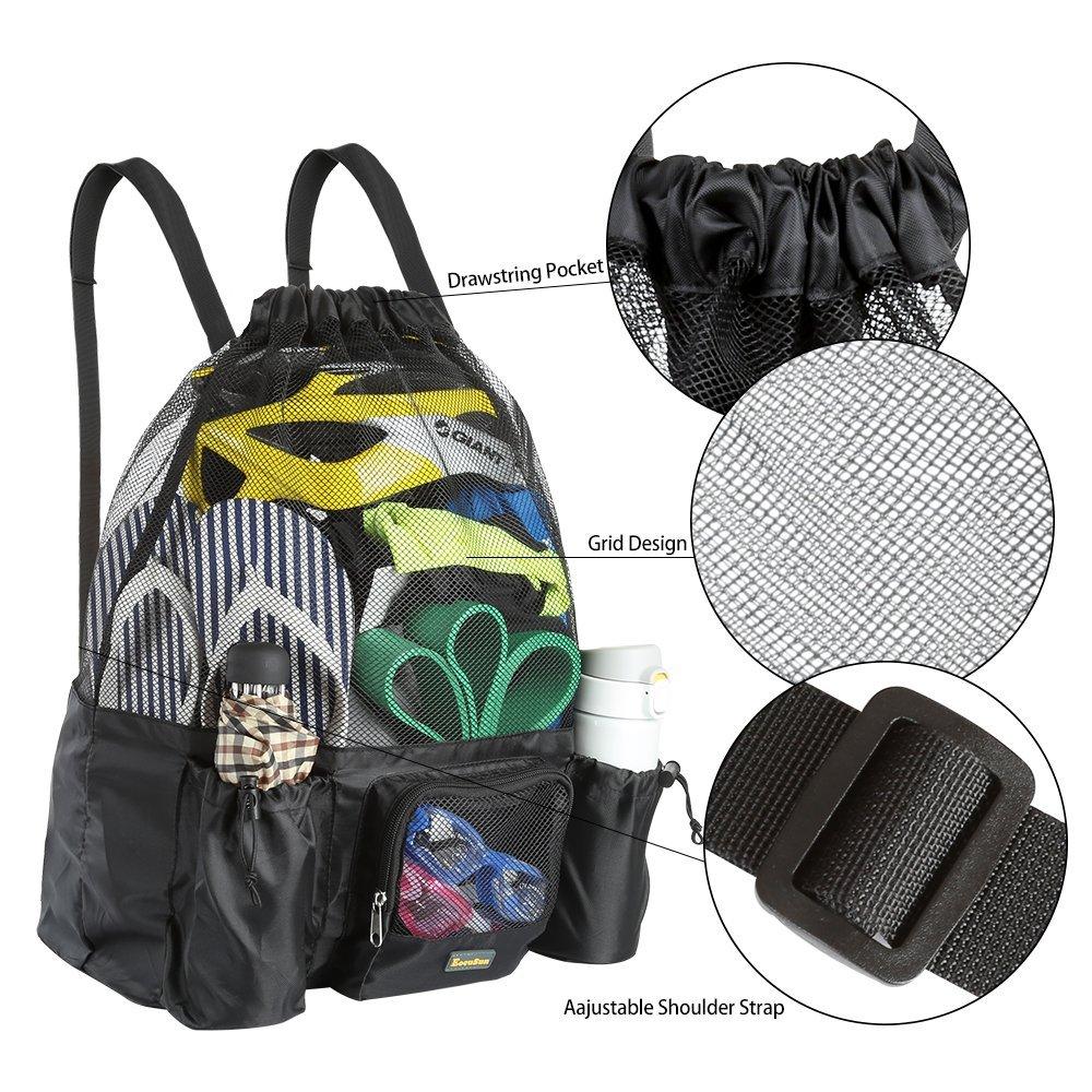 23dbfc9054 Amazon.com  EocuSun Large Mesh Swimming Bag